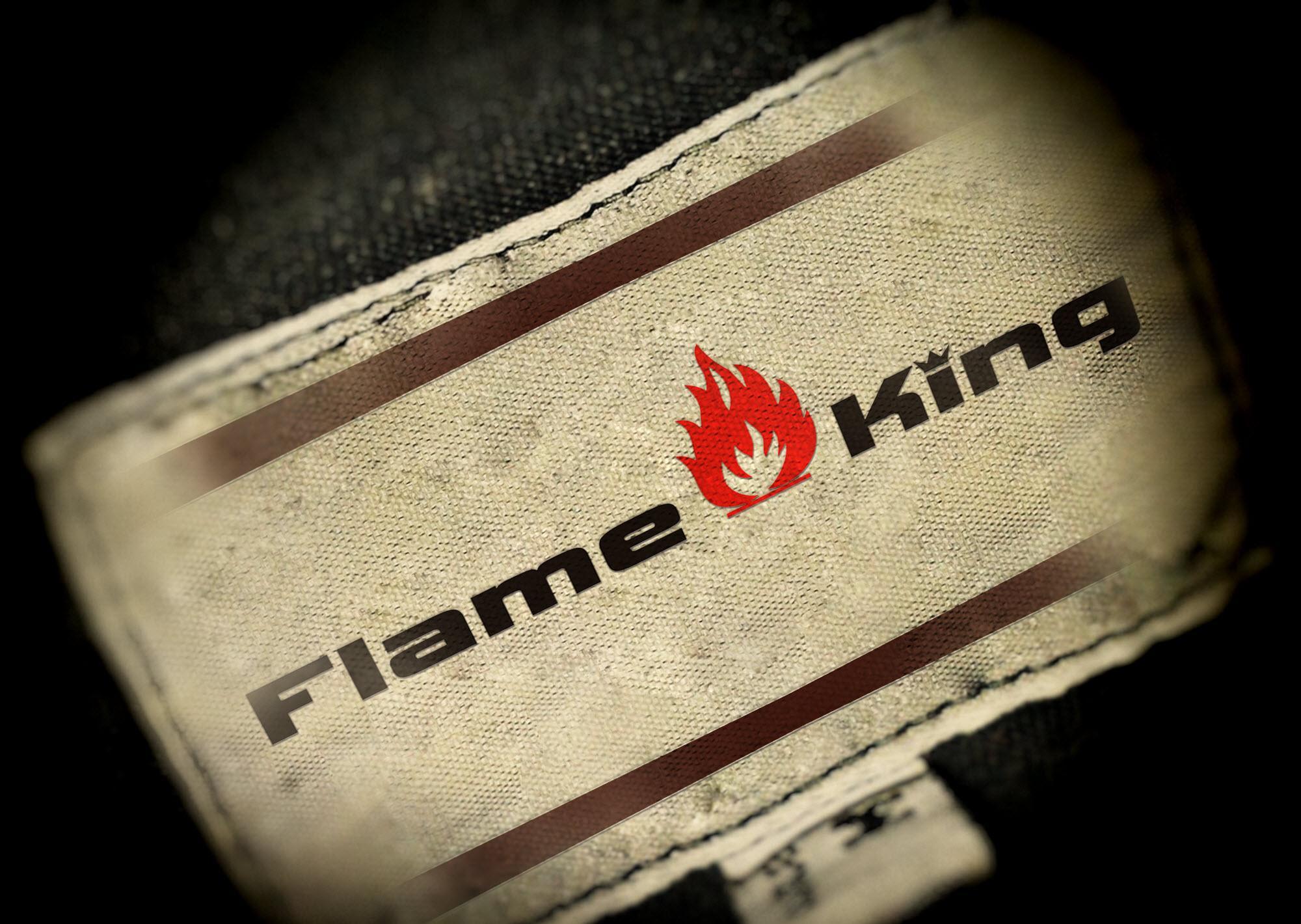 Flame K Logo