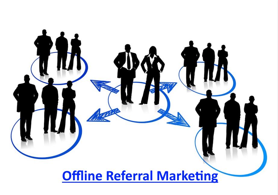 offline referral marketing