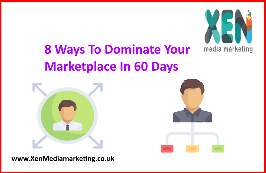 8 Ways To Dominate Your Marketplace In 60 Days